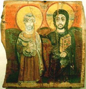 unknown-artist-abbot-st-mena-with-christ-coptic-6-7th-c